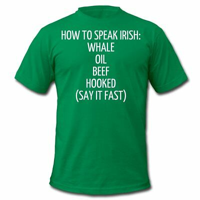 How To Speak Irish Funny St. Patrick's Day Men's  Jersey T-Shirt by Spreadshirt™