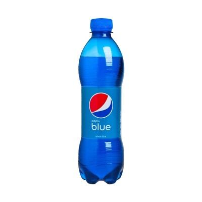 Pepsi Blue Bottle 450 Ml - Limited Blue Colour For Collectors Indonesia Asia