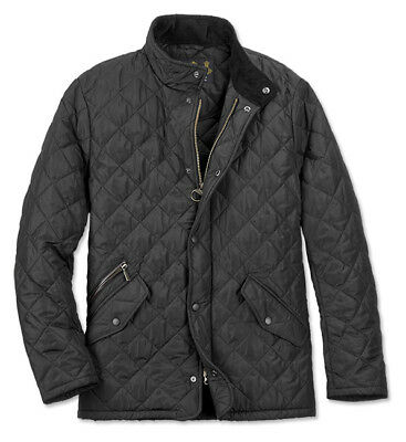 Barbour Men's Chelsea Sports Quilt Jacket, Black, Xsmall, New With Tags