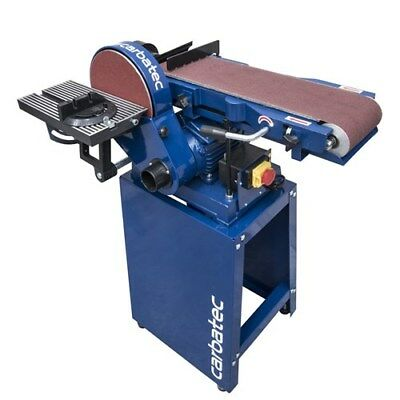 """Carbatec 6""""x9"""" Belt/Disc Sander with Stand"""