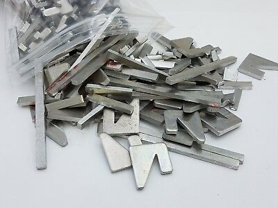 1lb Aluminum Sheet Plate Scrap Metal Chip Pieces Casting Clip Melting Flat Shim