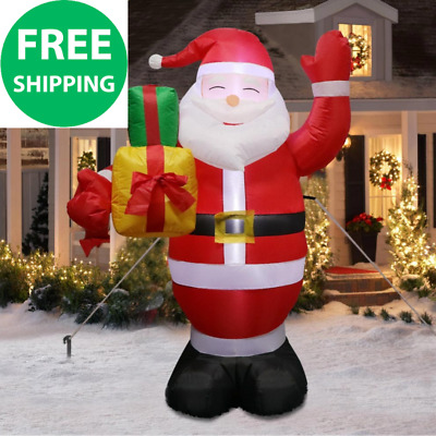 Inflatable Santa Claus Outdoors Christmas Decorations for Home Yard Garden Decor