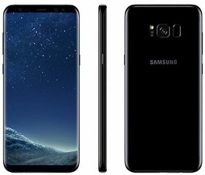 Samsung Galaxy S8 PLUS SM-G955U 64GB BLACK G955U S8+ GSM NEW UNLOCKED