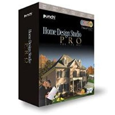 Punch Software Home Design Studio Pro V12 for Mac *New, Sealed*