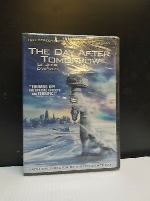 The Day After Tomorrow (DVD, 2005, Canadian Release Full Frame) BRAND NEW SEALED