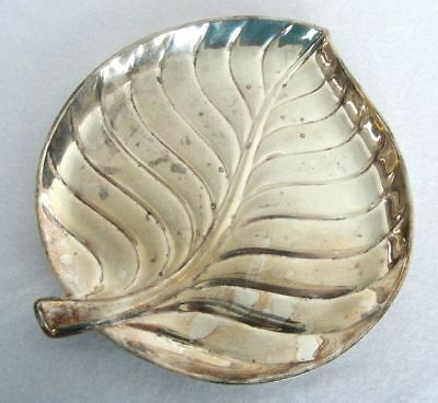 "Leaf Serving Tray 8"" International Silver Company #8198 VINTAGE"