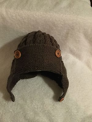"""Hand Knitted -""""Little Man Hat"""""""