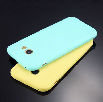 Ultra Slim Case Candy Soft Rubber Silicone Cover For Samsung Galaxy Models Phone