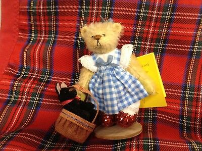 "Deb Canham Teddy Bear ""Dorothy"" Ltd. Ed. from The Oz Collection"