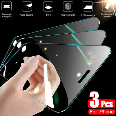 For Samsung Galaxy A6 A8 Plus A9 2018 5-Pack Film Tempered Glass Screen Protect