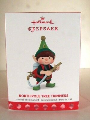 "2017  ""North Pole Tree Trimmers"" #5 in the Series Hallmark Ornament"