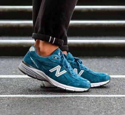 b7ab817a76881 NEW BALANCE 990 Color Spectrum North Sea Blue Suede Made In USA SZ ...