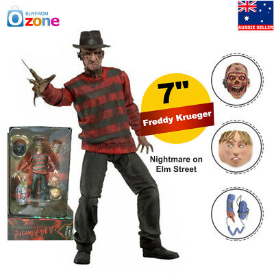 NECA Nightmare on Elm Street Freddy Krueger Action Figure Scale Ultimate