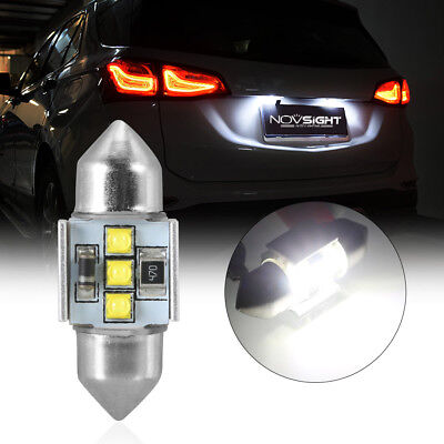 1Pcs 31mm CREE Festoon LED Canbus Lights Interior License Plate Lamp Bulbs White