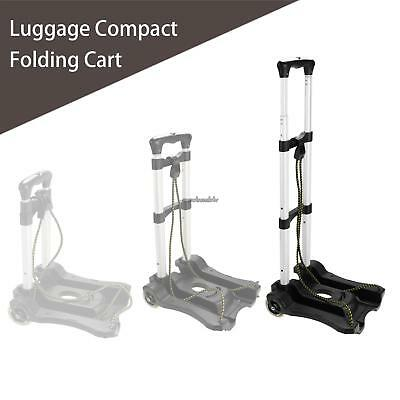 Folding 2 Wheels Dolly Luggage Shopping Hand Truck Cart Collapsible Tourister US