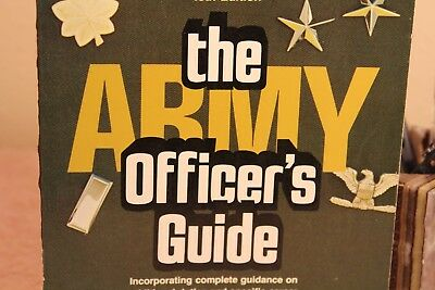 The Army Officer's Guide 40th Edition 1979 Specific Info on Warrant Officer