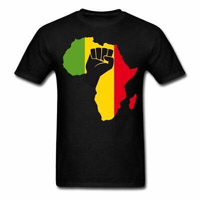African Black Power Fist Men's T-Shirt by Spreadshirt™