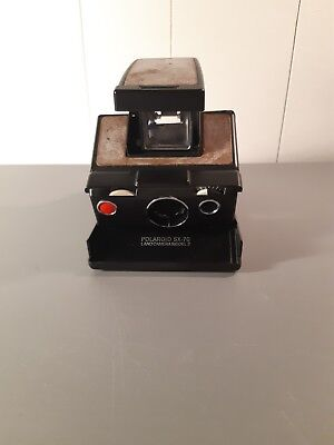 Polaroid sx-70 land camera model 3 for parts or repair untested