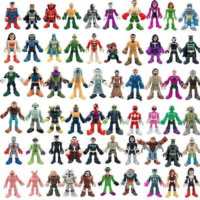 UP 60 Kinds of IMAGINEXT DC Super Friends Power Rangers Figures for you Select