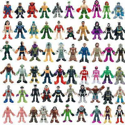 Select your figures - Fisher Price IMAGINEXT DC Super Friends Justice League