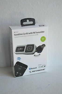 SCOSCHE Bluetooth Handsfree Car Kit with FM Transmitter