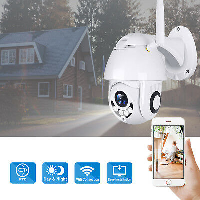 1080P TELECAMERA IP 5X ZOOM WIRELESS HD WiFi ESTERNO MOTORIZZATA WATERPROOF CAM