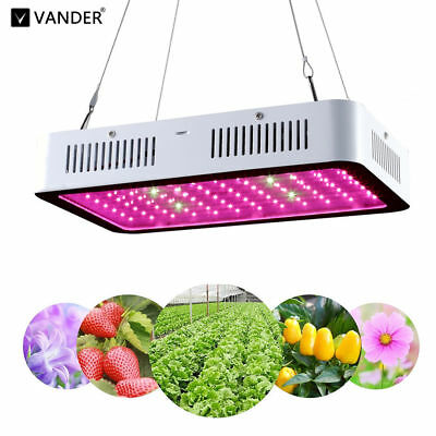 Hydro 2000W Full Spectrum LED Grow Light UV Hydroponic Panel Flower Medical Lamp