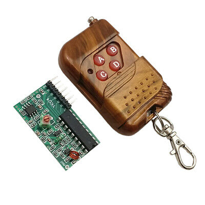 IC 2262/2272 4 CH Key Wireless Security 315MHZ Receiver module + Remote Contro I