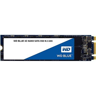 Western Digital WD Blue 500GB SATA M.2 2280 Internal Solid State Drive SSD