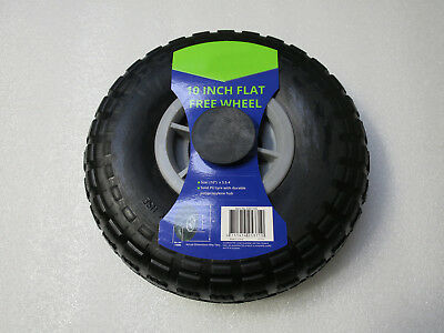 Hand Trolley Wheel 10 Inch 225Mm Pucture Proof Flat Free No Air Needed