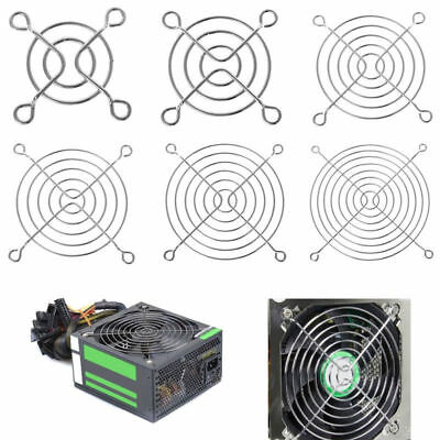 Fan Protection Net Grille Dia Iron Mesh Safety Grid For Computer Case Fans
