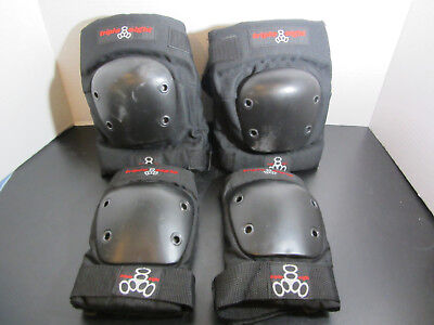 Triple Eight Street Protective Knee - Junior & Elbow Pads - Small GUC