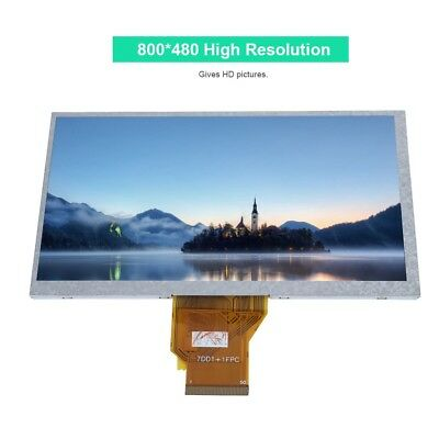 """7"""" Inch LCD Display Resistive Touch Screen 800x480 for Raspberry Pi/Win 7 8 10"""