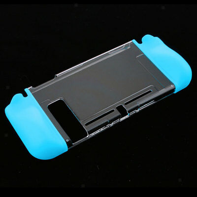 For Nintendo Switch Joy-Con Protective Housing Shell Case Transparent Blue