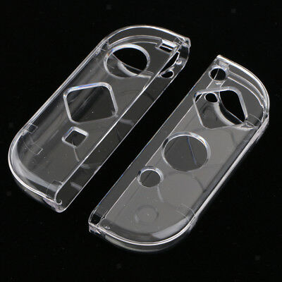 1Pair For Nintendo Switch Joy-Con Protective Case Housing Cover Shell Clear