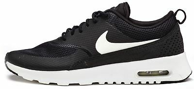 NIKE AIR MAX Thea Women Trainers in Black & Summit White 599409 020