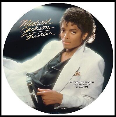 "Michael Jackson ""thriller"" Picture Vinyl LP NEU 2018 Re-Issue"