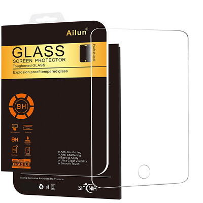 iPad Mini1/2/3 Tempered Glass Screen Protector 9H Hardness Anti Scratch NEW