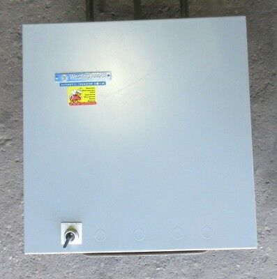 Westinghouse Atsce20070Ws Automatic Transfer Switch 240V 70 Amp, Single Phase