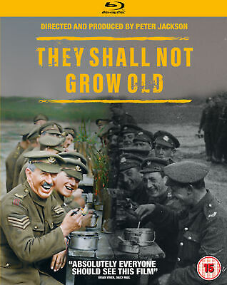 They Shall Not Grow Old [2018] (Blu-ray) Peter Jackson