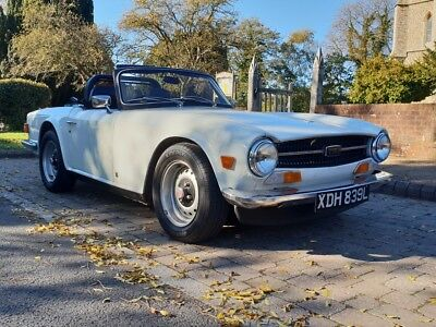 TRIUMPH TR6 1972 CP MODEL, Tax and MOT exempt, lovely condition