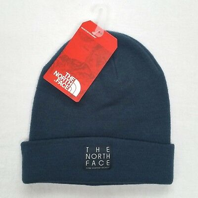 5a0dc339dbc THE NORTH FACE Gray Dock Worker Beanie Winter Hat Mens One Size NWT ...