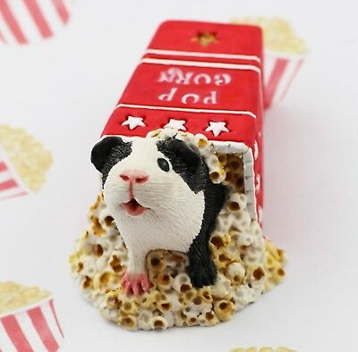Guinea Pig Figurine or ornament - POPCORN by Forever Home Studios.