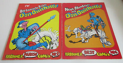 Brönner Klasse Comix Nr. 2 + Best Comic Nr. 4 - Don Quichotte