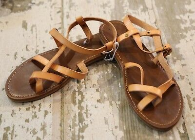 bbe5b9bdcb7 NWOT Universal Threads Womens LAVINIA Toe Wrap Thong Sandals Shoes tan Size  9