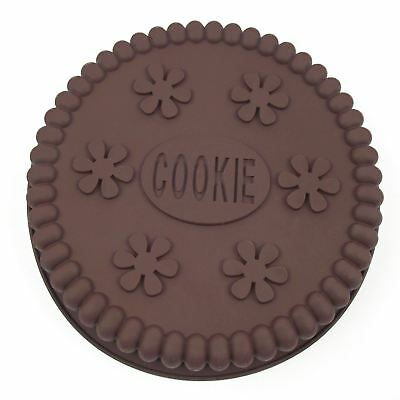 Giant Cookie Mould! Oreo Cake Maker XL Biscuit Tin Pan Silicone Pair