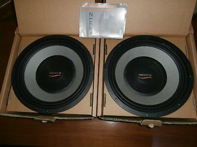 "SUBWOOFER HERTZ ML3800  38 cm 380 mm 15"" 1200W max 600W rms 4 ohm 1pezzi 1pcs"