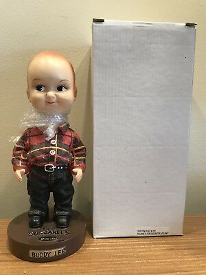 "Buddy Lee Jeans Dungarees 8"" Bobblehead 2003 Bobble NEW IN BOX w FOAM!"