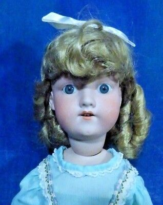 Antique 1890s German Bisque AM Armand Marseille 390 Doll 23in Beauty! DC27