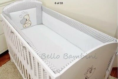 Bello Bambini All Round Cot Bumper to fit cot size 120 x 60
